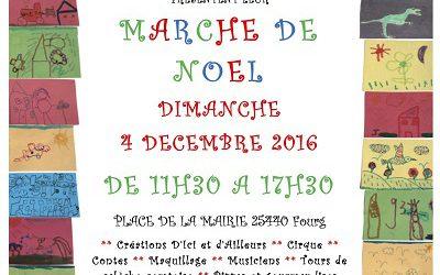 """Marché de Noël des """"P'tits d'Fourg"""""""